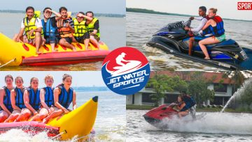 JET WATER SPORTS GOES SLAP BANG AT NEGOMBO JETWING LAGOON Water Sports Adventurists YOU NAME IT, WE HAVE IT, says MD Thilanga Sumathipala